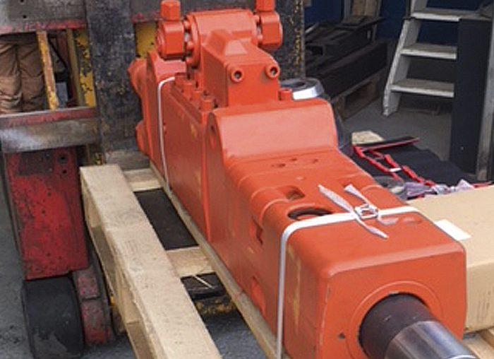 Investering hydraulisch heiblok, type GH6