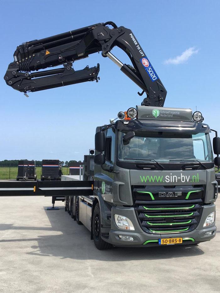 Nieuwe DAF om onze klanten nog sneller van dienst te zijn!